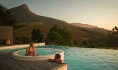 delaire Graff hotel Pool jacuzzi honeymoon views stellenbosch cape town wedding night Luxury Spa, Luxury Travel, Cape Town Tourism, Small Boutique Hotels, Local Hotels, Romantic Places, South America Travel, Wedding Night, Africa Travel