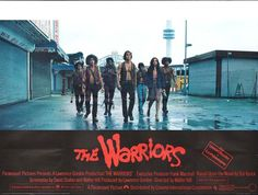 Buy an original vintage The Warriors UK Quad movie poster. Starring Michael Beck,James Remar, and directed by Walter Hill 503 1970s Movies, Vintage Movies, Vintage Posters, Original Movie Posters, Film Posters, Leonard Rossiter, James Remar, Island Movies, Frank Marshall