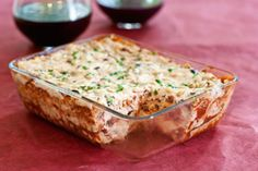 12 Non-Dairy Lasagnas - #6 is Double cheese lasagna with homemade macadamia ricotta and homemade cashew cheese