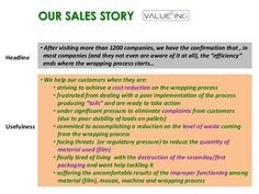 Valueing's sales-story by Jose Luis Giraldez via Slideshare