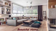 Яркая гостиная и ее варианты интерьера для украшения зала светлыми оттен...