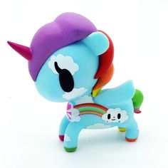"Unicorno Series 3 by Tokidoki - Pixie 3"" Vinyl Figure. Comes with Box. This is an open box figure."