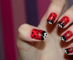 #nails #nailart cute