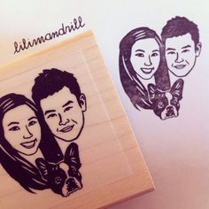 Custom Portrait Stamp @lilimandrill www.lilimandrill.fr #etsy #coupleportrait #EtsyGifts #bachelorette #etsywedding #wedding #mariage #bride #diy #couple #stamp #giftforcouple #gift #weddinggift #DifferenceMakesUs #invites #party #engagement #uniquegift