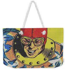 Streetwear Weekender Tote Bag featuring the mixed media Hydroman 2 by Otis Porritt