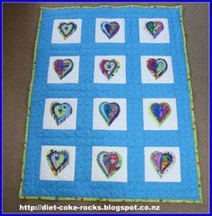 Quilt for Grandson Liam's Birthday. My Sewing Room, Quilts, Blanket, Birthday, How To Make, Scrappy Quilts, Birthdays, Quilt Sets, Quilt