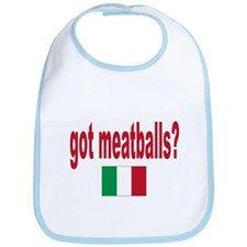 got meatballs Bib for