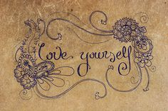 love yourself to be able to accept love from others