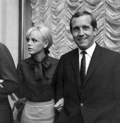 Ian Hendry + Britt Ekland [1965]
