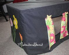 Table-cover fort!  Easy enough... endless possibilities!