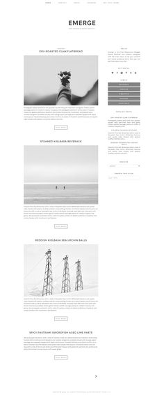 Free Modern and Responsive Blogger Template for daily lifestyle and business blogging. Featuring minimal and elegant design.