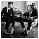 Preview Karolina Kurkova for Giuseppe Zanotti FW 15.16 Campaign by Josh Olins