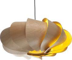 Bloom 1 light Oval Pendant