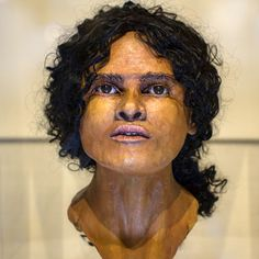 An exhibition exploring the origins of ancient skeletons in Sussex, including a woman from sub-Saharan Africa buried in Roman times, has opened. The face of the so-called Beachy Head Lady was recreated using craniofacial reconstruction. Ancient Rome, Ancient History, Forensic Facial Reconstruction, 3d Reconstruction, Roman Britain, Old Faces, Portraits, Le Far West, Forensics
