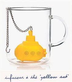 Infuseur à thé yellow submarine