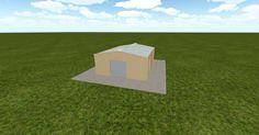3D #architecture via @themuellerinc http://ift.tt/2gt2RBN #barn #workshop #greenhouse #garage #DIY