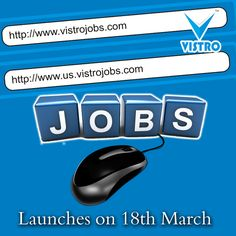 We Have Lift Off...... Vistro Jobs will be launch on 18th March. Take your carrier in right path with Vistro Jobs. Read more @ http://www.vistroinfo.com/