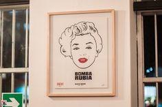 En la Emolienteria Bar 28 de Agosto – 31 de Octubre del 2014 / Marilyn Monroe / Fotos: Yulia Katkova