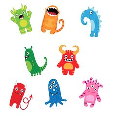 Monster Accents - $2.40 : EdSen Teaching Resources