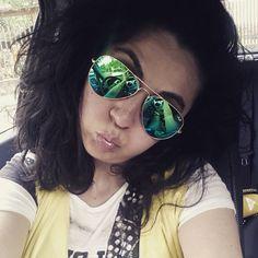 "Ma l'estate quando arriva? #waiting #summer ""yellow #rayban #sunglasses #sunday #pictureoftheday #instafashion #instapic #instaday"
