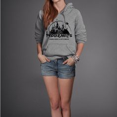 Hogwarts Castle Campus Harry Potter Book Inspired Hoodie Sweatshirt by parenholly on Etsy https://www.etsy.com/listing/192954267/hogwarts-castle-campus-harry-potter-book
