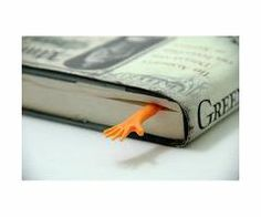 Help Me! Bookmark  #quirky #humor #book #hand