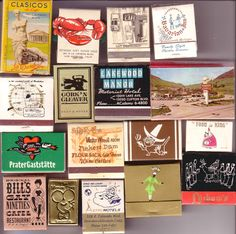Jude Stewart shares her grandma's collection of match books. Did your family collect matchbooks?