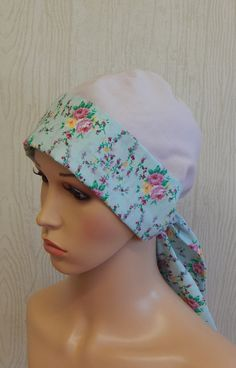 Chemo Cap Cotton Head Scarves Cancer Head Covering by kristine1986