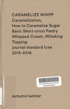 journal standard luxe - 2015-2016 autumn/winter:BAYCREW'S BRAND CATALOG