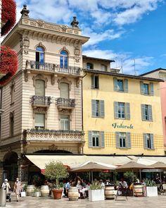 Swiss Travel, Lugano, Switzerland, Mansions, House Styles, Beautiful, Home Decor, Decoration Home, Manor Houses