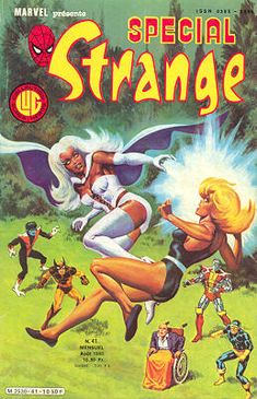 Couverture de Spécial Strange -41- Spécial Strange 1985