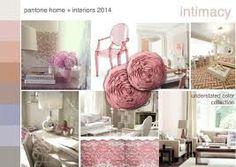 2014 #Pantone #interiortrend  #Intimacy