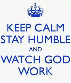 Watching God work!