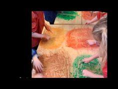 beeldende therapie, schrijfdans de boom - YouTube