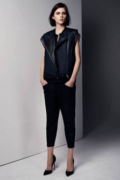Helmut lang Pre-Fall 2013 Runway - Helmut lang Pre-Fall Collection - ELLE
