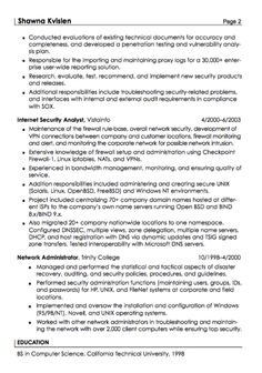 This Example Security Specialist Resume Sample We Will Give You A Refence  Start On Building Resume.you Can Optimized This Example Resume On Creating  Resume