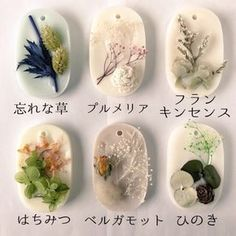 【単品*プレゼントにも】ソイワックスのサシェ Wax Tablet, Candle Art, Soap Recipes, Handmade Soaps, Wax Melts, Candle Making, Small Gifts, Dried Flowers, Jewelry Crafts
