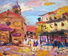 Oviedo y la pintura: Fontán