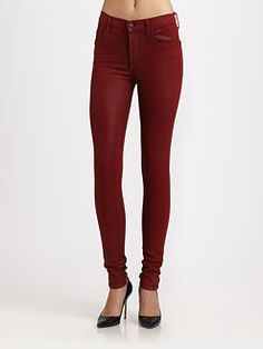 Citizens of Humanity - Rocket Leatherette Skinny Jeans