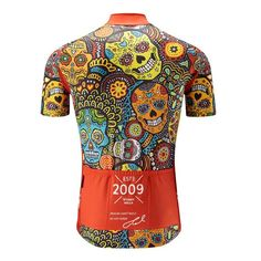 We now have full new stock of our award winning 'sell out' Mexican Candy Skull jerseys by . Available in store & online in Classic, Aero & Women's cuts. Cycling Wear, Bike Wear, Cycling Jerseys, Cycling Outfit, Bike Shirts, Cool Bike Accessories, Textiles, Guys And Girls, Mountain Biking
