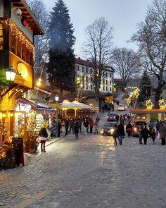 Metsovo in winter, Epirus, Greece