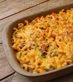 Disappearing Casserole is the perfect way to use up leftover sloppy joe meat, taco meat or barbecue pulled pork. ~ http://reallifedinner.com