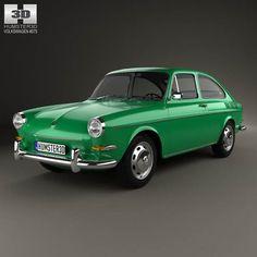 model of Volkswagen Type 3 fastback 1965 Volkswagen Beetle Vintage, Volkswagen Type 3, Model Auto, Vw Modelle, Kdf Wagen, Vw Lt, Vw Classic, Good Looking Cars, Vw Cars