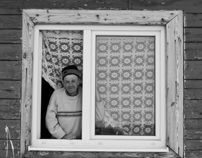 A man from the window