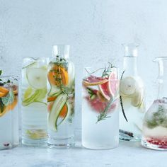 These infused water recipes are nearly calorie-free, have no added sugar, & are easy to make.
