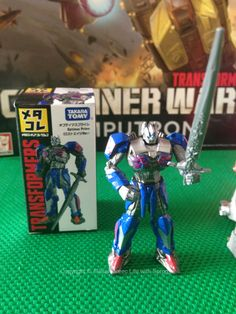 Takara Tomy die cast Optimus Prime. Purchased September 2016.