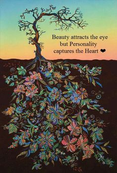 Beauty attrects the eye but personality captures the heart. ^-^
