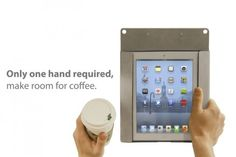 Now drink your coffee and get work done on the go! Buy Clipboard+ on Kickstarter. Only 7 days left!