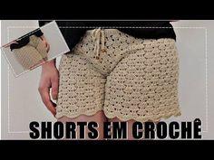 anapaulaanajuliatoco Ribeiro shared a video Crochet Woman, Love Crochet, Easy Crochet, Knit Crochet, Crochet Pants, Crochet Skirts, Crochet Clothes, Crochet Stitches, Crochet Patterns