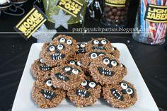 Wookie Cookies at a Star Wars party #starwars #wookiecookie